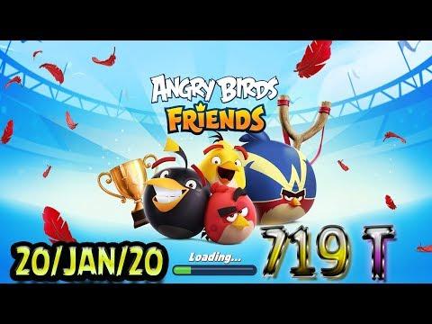 Angry Birds Friends All Levels Tournament 719 Highscore POWER-UP Walkthrough #AngryBirdsFriends