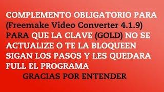 COMPLEMENTO OBLIGATORIO DE Freemake Video Converter 4 1 9