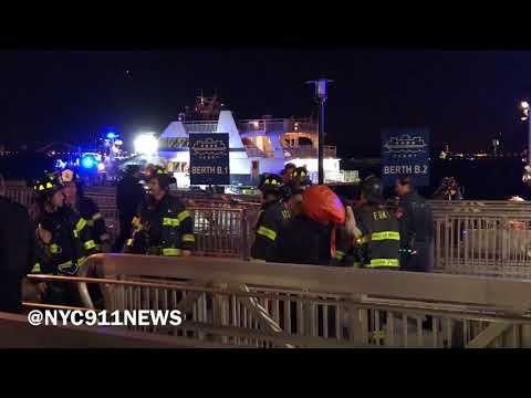 Pier 11 Ferry crash & Rescue