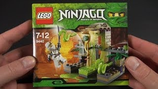 LEGO - Ninjago  - Jumping Snake Trap (Schlangenfalle) Unboxing