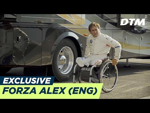 Alex Zanardi: Racing driver with no legs | DTM Exclusive