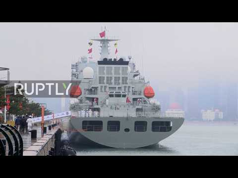 China: Large naval parade marks 70th anniv of Chinese Navy