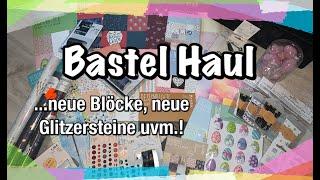Tedi Haul Bastel Haul (deutsch) schöne Sachen entdeckt, Scrapbook basteln mit Papier, DIY