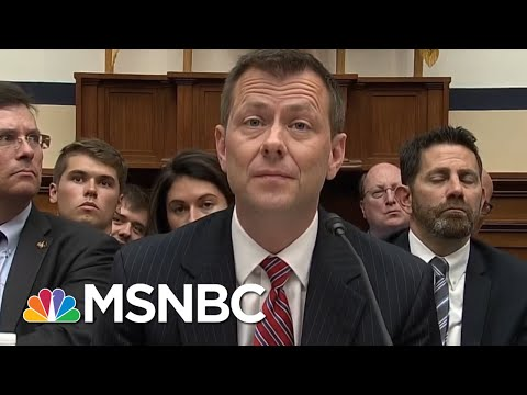 Peter Strzok: I Could Have Exposed Russia Investigation To Hurt Trump, But Didn't | AM Joy | MSNBC