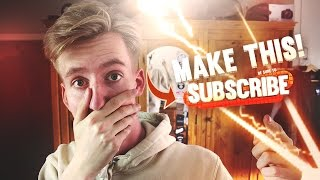 EPIC Cartoon Subscribe Button Tutorial + Download