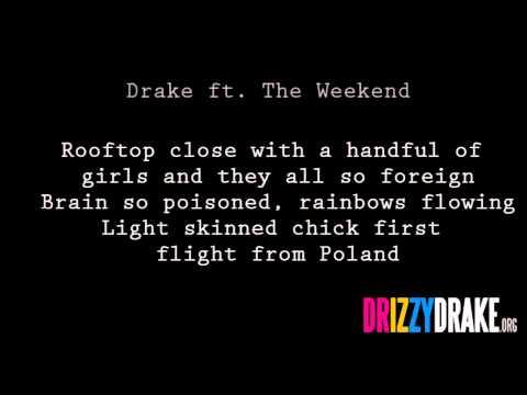 Drake ft. The Weekend - Crew Love Lyrics [VIDEO]