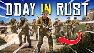 The BIGGEST BATTLE iฑ RUST HISTORY (300 Players!) - Rust WW2 Roleplay