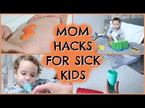 MOM HACKS FOR SICK KIDS | TIPS FOR COPING WITH SICK KIDS | EMILY NORRIS AD