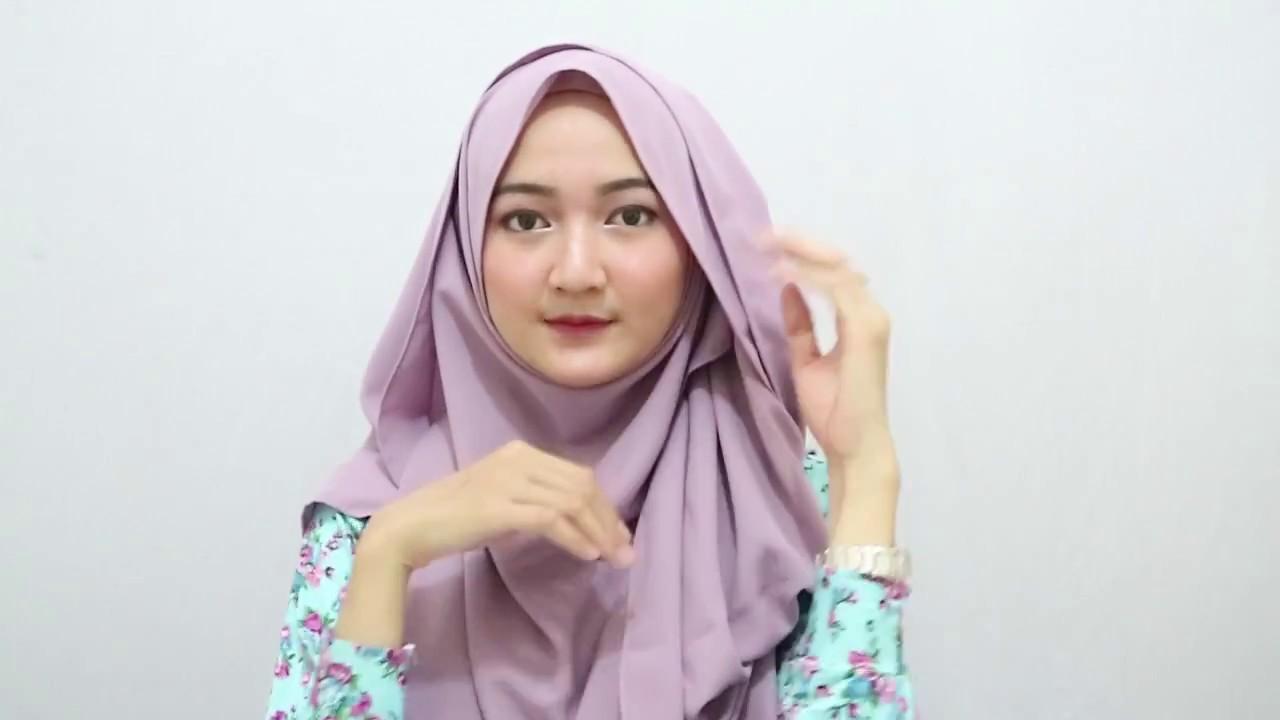 Tutorial Hijab Formal Syar I Full Part Youtube