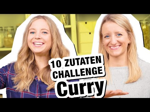 10 Zutaten Challenge | CURRY 😋