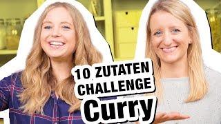 10 Zutaten Challenge | CURRY 😋