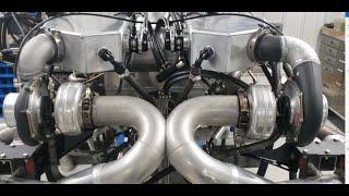 2300HP Twin Turbo Lamborghini Dyno testing !