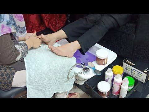 beauty parlour pedicure || basic pedicure