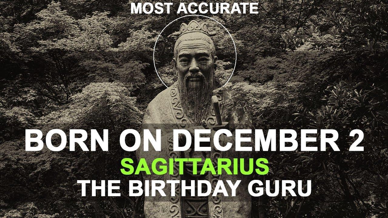 december 2 bday astrology