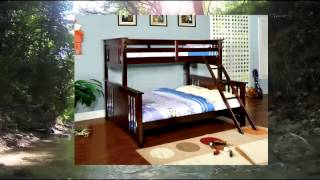 Furniture Of America Steven Bunk Bed Twin Over Queen Dark Walnut