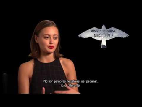 Miss Peregrine y los Niños Peculiares/ Ella Purnell define Peculiar