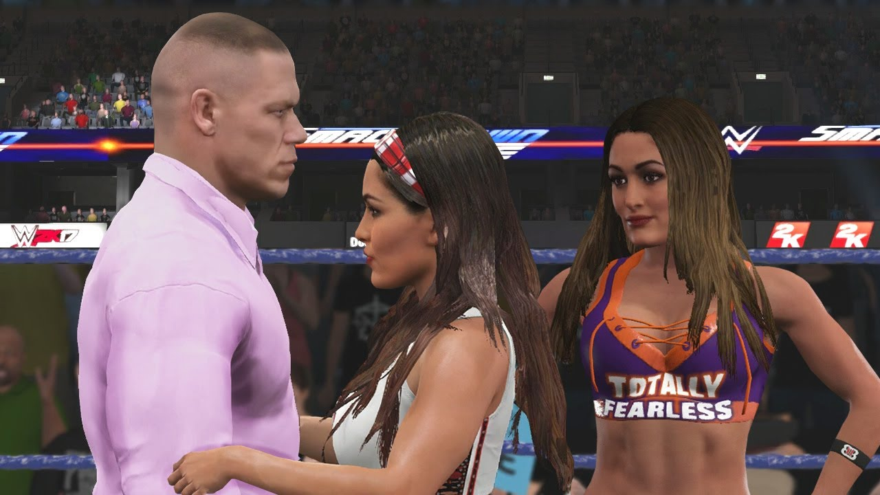 Nikki Bella And John Cena Wedding.Wwe 2k17 Story John Cena Brie Bella S Marriage Revealed Ep 64