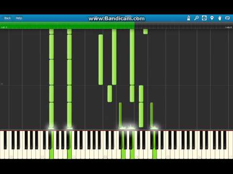 Pokemon X & Y - Route 15 Music Piano Arrangement (Synthesia)