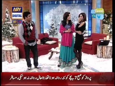 Good Morning Pakistan show and Madiha clothes. Is this a Islamic country ????