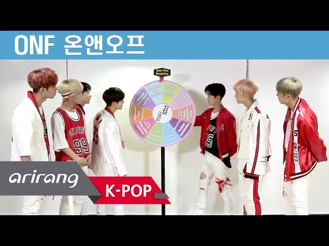 [Pops in Seoul] Lights on! ONF(온앤오프)'s Spin The Roulette