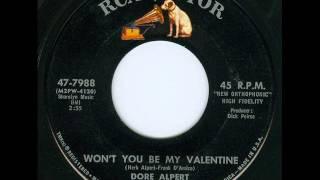 Dore Alpert - Won't You Be My Valentine (HQ)