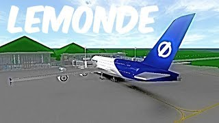 ROBLOX | LeMonde Airlines A380-800 Flight | 4 Year Anniversary!