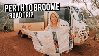 Perth to Broome Road Trip | Western Australia Travel Guide