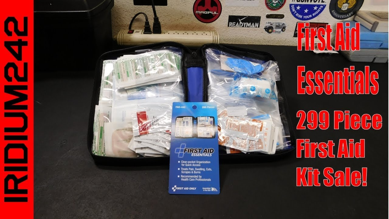 First Aid Essentials 299 First Aid Kit Sale!