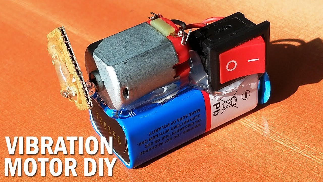 DIY Vibration motor - How to make