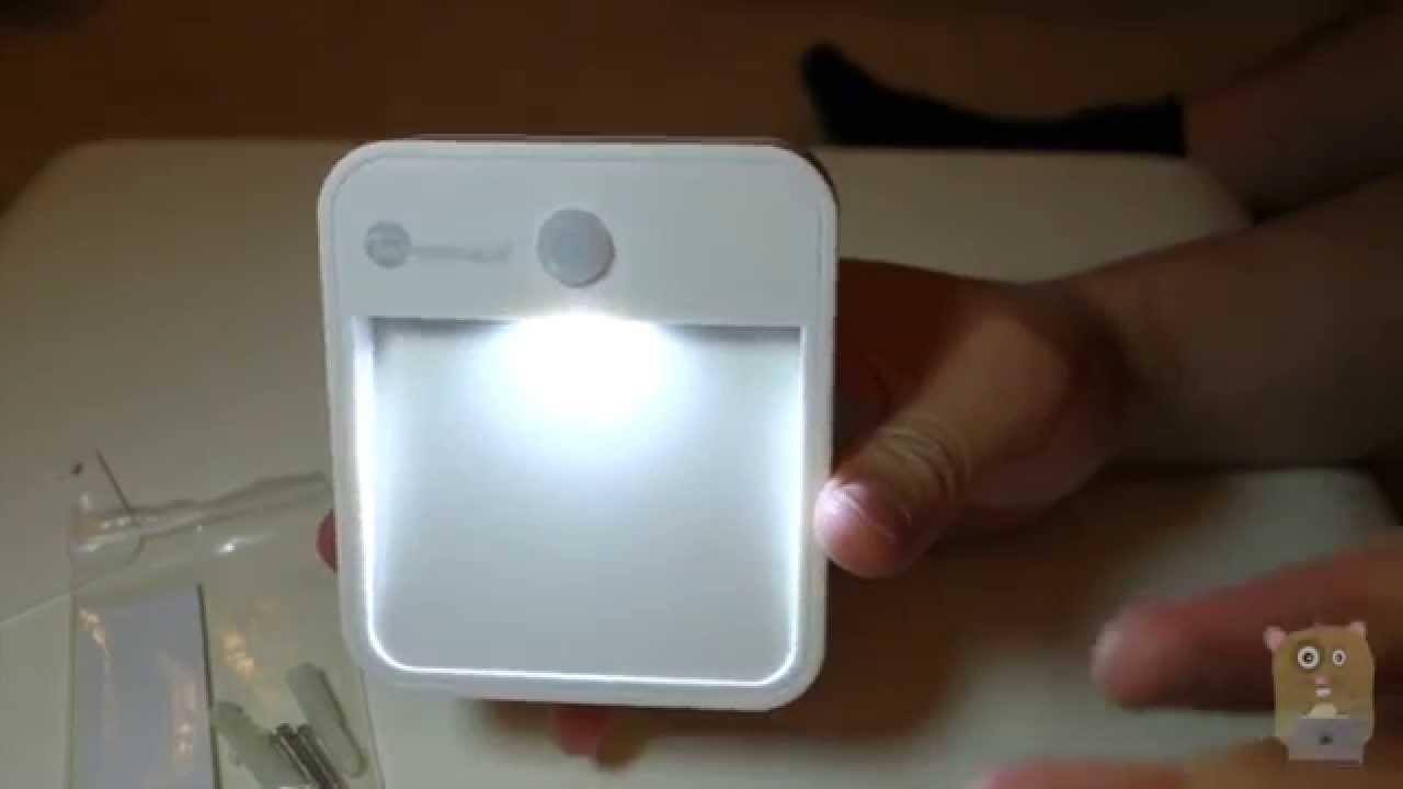 e279f67b8fe TaoTronics TT-NL001 Motion Sensor LED Night Light Review - YouTube