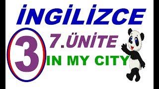 3.SINIF İNGİLİZCE 7.ÜNİTE