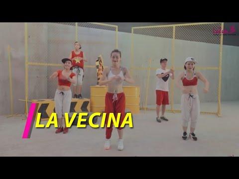 La Vecina | Cumbia – Bachata | Nhảy Zumba | Zumba Fitness Vietnam | Lazum3