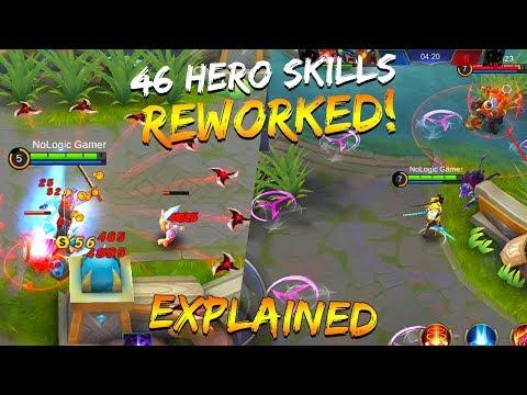 NEW MAYHEM GAME MODE ALL HERO REWORKED SKILLS EXPLAINED! | Mobile Legends Bang Bang | MLBB thumbnail