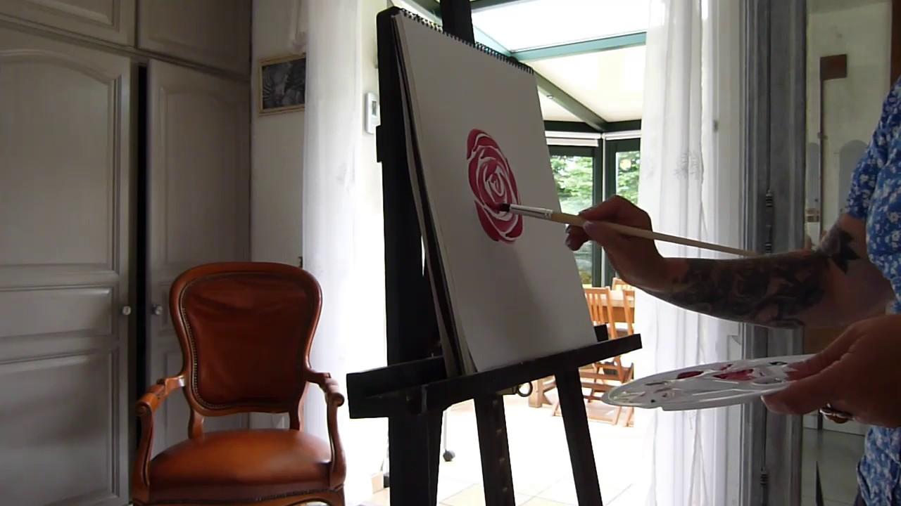 Comment Faire Du Rose En Peinture