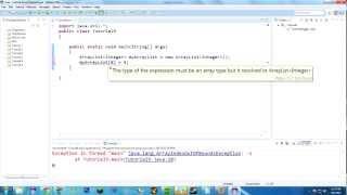 Java Tutorial 9: Hello Arrays and ArrayLists!