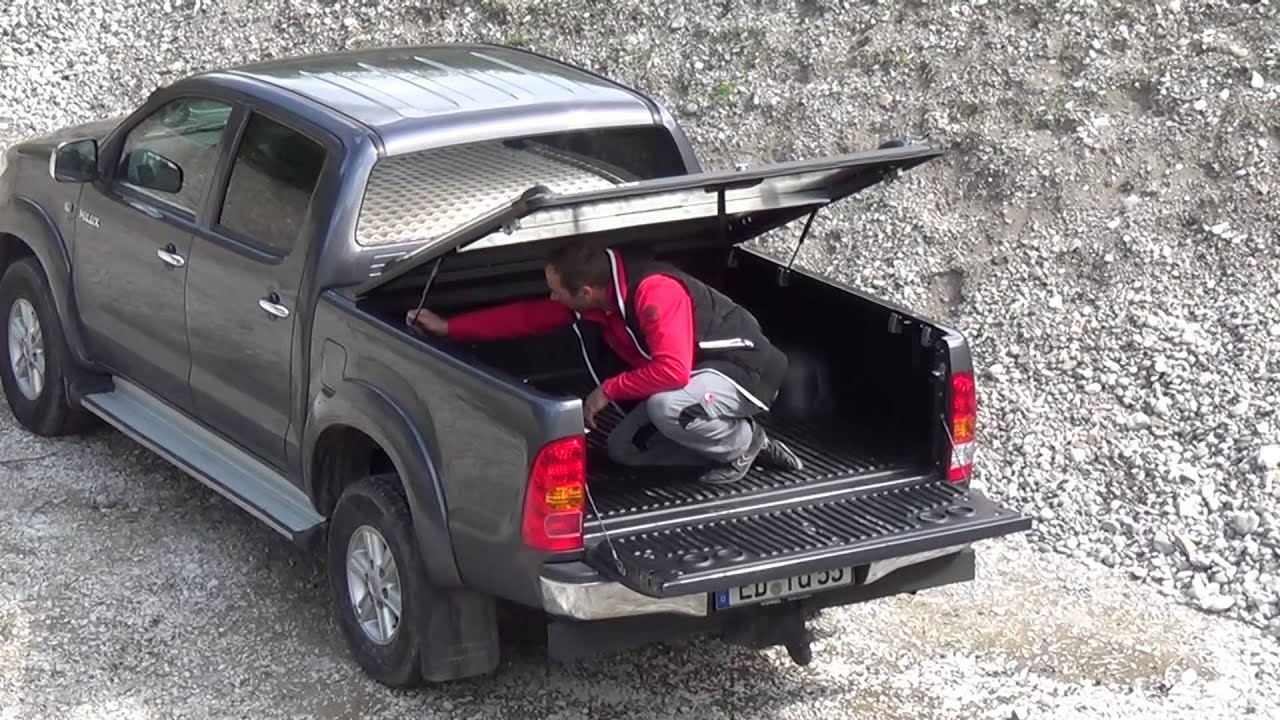 Laderaumabdeckung Mountain Top Fur Den Toyota Hilux Youtube