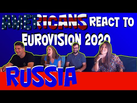 Americans react to Eurovision 2020 Russia: Little Big Uno