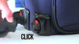 """""""Click"""" de Gladiator, la maleta con las ruedas extraíbles"""