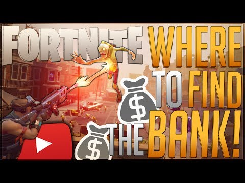 FORTNITE: How To Store Items In The Bank! ◄Bank Location► Where To Find Storage Units!