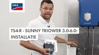 TS4-R - Sunny Tripower 3.0-6.0: installatie