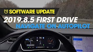 Software Update - Tesla's Navigate on Autopilot w/o Confirmation!