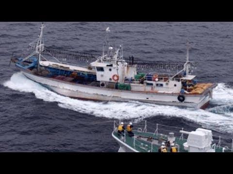 【島根沖】韓国船が日本漁船に10㍍の距離まで近づき船と漁具をつなぐロープの上を横切り切断、漁船は韓国船側に20㍍引っぱられる
