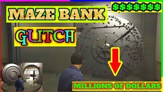 Gta 5 Maze bank $$ Million dollar Stock Glitch ( Make unlimited money easy )