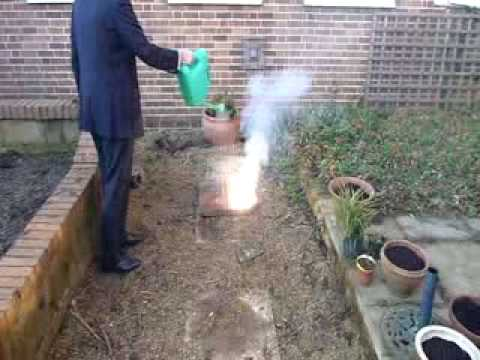 How Not To Put Out A Magnesium Fire