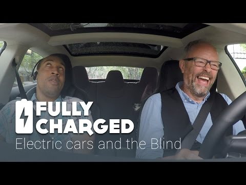 Electric cars and the Blind   Fully Charged