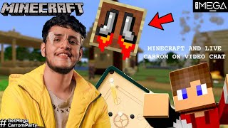 Minecraft But I Have Jet Boots🚀 (Carrom with Subs Later) #GetMegaCarromParty