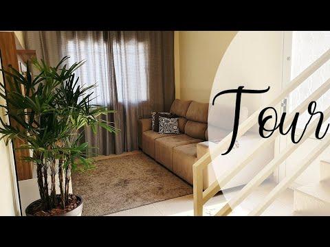 Tour da casa nova! por Camila Fonseca