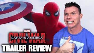 CAPTAIN AMERICA: Civil War - Trailer 2 Review