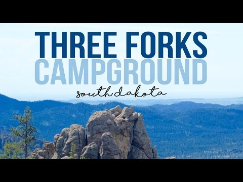 Three Forks Campground in Hill City, South Dakota - a Drivin