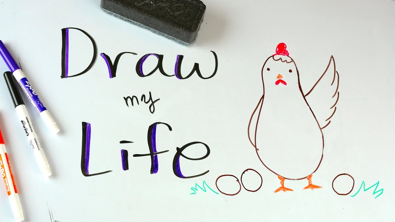Draw My Life 🐣 A Hen In Today S World Youtube